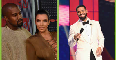 Kanye West is not happy that Drake follows Kim Kardashian on Instagram