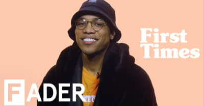 "Anderson .Paak retells picking up the drums, writing the song ""Suede,"" an unfortunate blind date, and more on First Times"