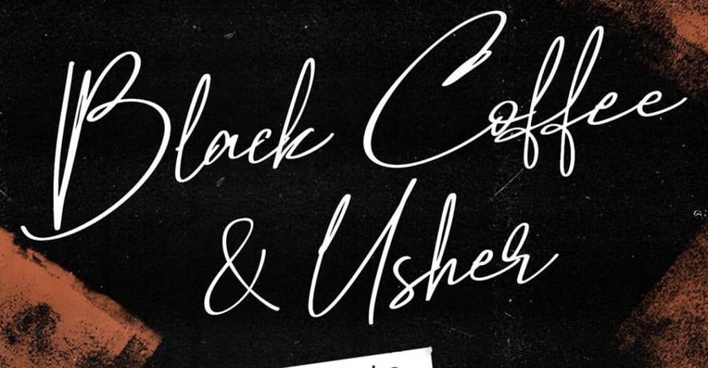 """Usher and Black Coffee link-up on """"LaLaLa"""""""