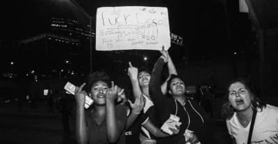 LA Came Out To Protest Trump Winning The Election