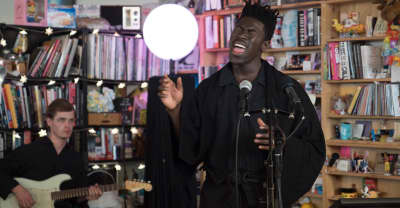 Take a moment from your day and watch Moses Sumney's Tiny Desk Concert