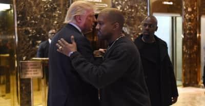 "Kanye West called Ebro's radio show to say ""I love you"""