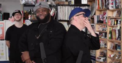 Watch Run The Jewels's NPR Tiny Desk Concert