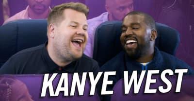 Watch Kanye West and James Corden's Airpool Karaoke