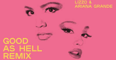 "Lizzo recruits Ariana Grande for ""Good As Hell"" remix"