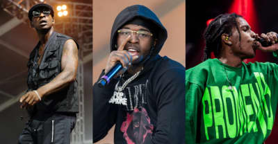 """Skepta, Pop Smoke, and A$AP Rocky team up on new song """"Lane Switcha"""""""