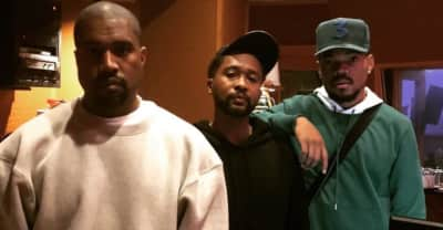 Kanye West is in Chicago to make Chance The Rapper's new album