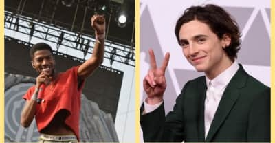 Kid Cudi once gave Timothée Chalamet some advice, and it's pretty good stuff
