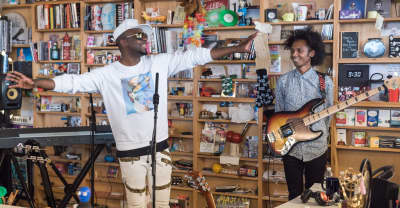 Watch Wyclef Jean's Tiny Desk Concert