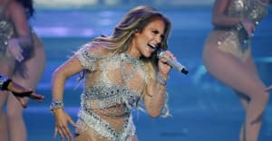 Watch Jennifer Lopez, Shakira, Bad Bunny, and J Balvin perform at the Super Bowl