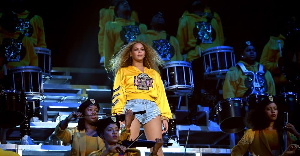 Beyoncé has two albums in the Billboard 200 top 10