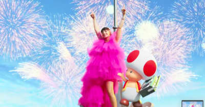 Listen to Charli XCX's song for the new Super Nintendo World theme park