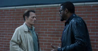 Watch Johnny Depp attempt to solve the murders of Biggie and Tupac in City Of Lies