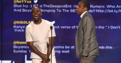Kanye posts picture of Beyoncé and JAY-Z, stoking Watch The Throne speculation