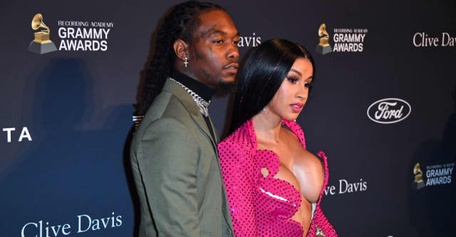 Cardi B files for divorce from Offset 1