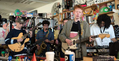 Watch King Krule's Tiny Desk Concert