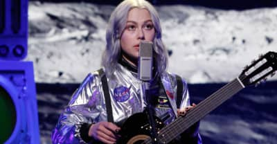 """Watch Phoebe Bridgers perform """"Moon Song"""" in a space suit on Jimmy Kimmel Live!"""
