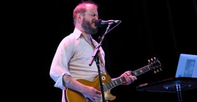 "Bon Iver shares new song ""AUATC"" featuring Bruce Springsteen"