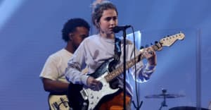 "Watch Clairo bring ""Bags"" to Ellen"