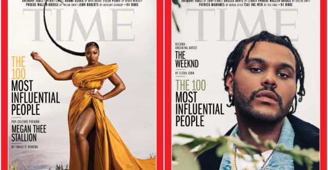 Megan Thee Stallion, The Weeknd, Halsey make TIME 100 list 1