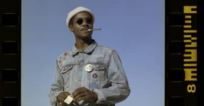 "Channel Tres turns the barbershop into a rave in his ""Jet Black"" video"