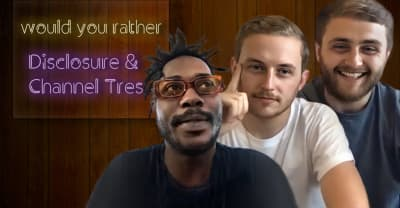 Watch Disclosure and Channel Tres discuss starting an OnlyFans with James Blake