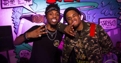 Metro Boomin and Uncle Jxm Lit Up The FADER's Boom Basel Party