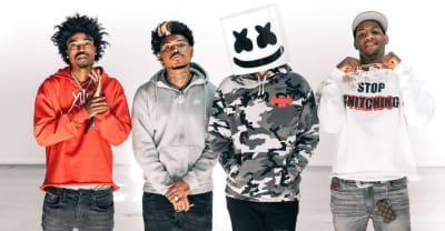 SOB X RBE release surprise EP with producer Marshmello