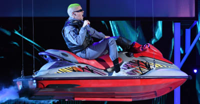Watch Bad Bunny's wild performance at the Billboard Latin Music Awards