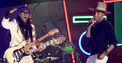 Pharrell To Induct Nile Rodgers Into Rock And Roll Hall Of Fame