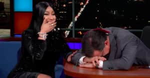 "Watch Nicki Minaj freestyle a new ""Barbie Dreams"" verse about Stephen Colbert"