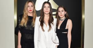 Haim fired their agent after being paid 10 times less than a male act at a festival