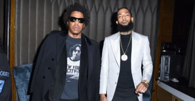 "JAY-Z and Nipsey Hussle appear together on ""What It Feels Like"""