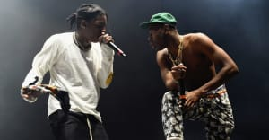 Watch A$AP Rocky join Tyler, The Creator on stage at Madison Square Garden