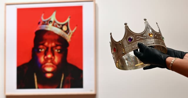 Plastic crown worn by Biggie sells for $594,000 at auction 1