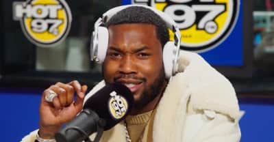 """Watch Meek Mill freestyle over Drake's """"Back To Back"""""""