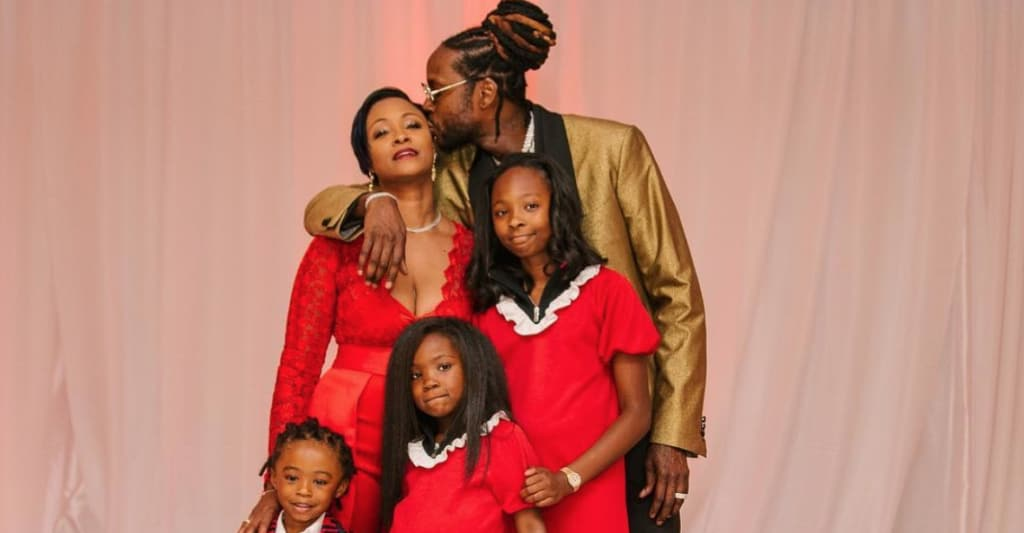 Everyone at 2 Chainz and Kesha Ward's wedding brought the