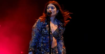 """Lorde says her new album is """"in the oven"""""""