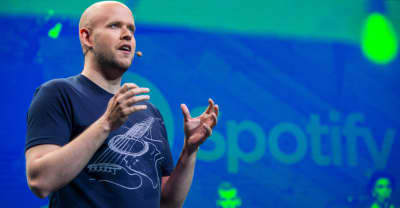 "Spotify CEO Daniel Ek says working musicians may no longer be able to release music only ""once every three to four years"""
