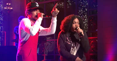Watch Chance The Rapper Bring On Noname And Francis Starlite For His SNL Performances