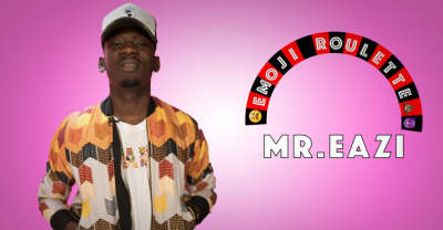 Watch Mr Eazi Get Giggly In A Game Of Emoji Roulette