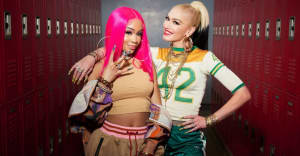 "Saweetie joins Gwen Stefani on new version of ""Slow Clap"""