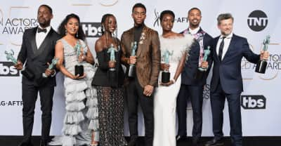 Black Panther wins SAG Awards prize ahead of Oscar ceremony