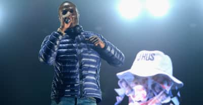 "Watch J Hus record a live cover of 50 Cent's ""21 Questions"""