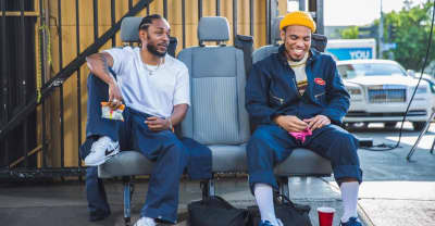 Anderson. Paak is teasing something new with Kendrick Lamar