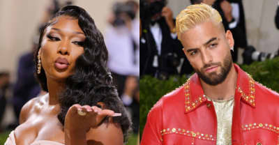 """Megan Thee Stallion and Maluma get spooky on """"Crazy Family"""""""