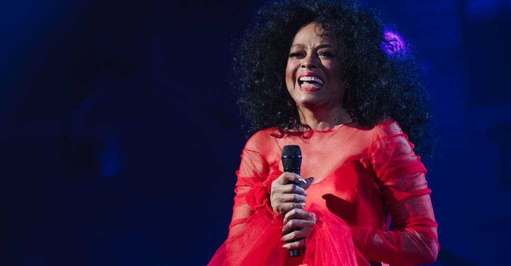 Diana Ross confirmed for Glastonbury 2020