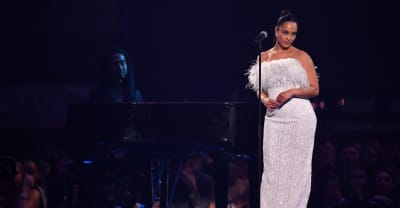 "Jorja Smith brought a moment of calm to The Brits with ""Don't Watch Me Cry"""