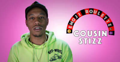 Cousin Stizz Has No Tolerance For Tom Brady Slander In This Game Of Emoji Roulette