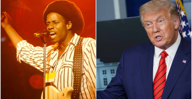 "Eddy Grant is suing Donald Trump's campaign for using ""Electric Avenue"" in a video 1"